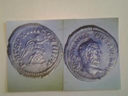 Denier De Caracalla Tête Laurée A Dr Rv / Pmtrp X IIII COSIII Pp Victoire Marchant à Dr - 4. La Dinastía De Los Severos (193 / 235)