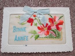 Carte Brodee Bonne Annee - Ricamate