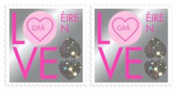 Éire 2020, Love And Marriage, Collectors Pair, Ireland, MNH - Ungebraucht