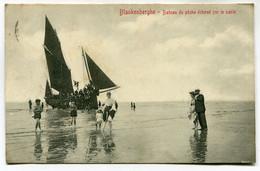 CPA - Carte Postale - Belgique - Blankenberghe - Bateau De Pêche échoué Sur Le Sable - 1906 (BR14498) - Blankenberge