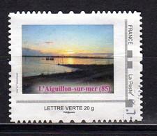 COUCHER DE SOLEIL à L'AIGUILLON SUR MER Vendée Mon Timbramoi - Personalisiert (MonTimbraMoi)