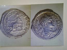 Denier De Caracalla Tête Laurée A Dr Rv / Pontif Trp VIII Cos II La Santé Assise à Gauche - 4. La Dinastía De Los Severos (193 / 235)
