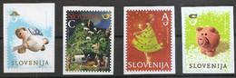 SLOVENIA 2012 ,NEW YEAR,CHRISTMAS,FROM BOOKLET,MNH - Eslovenia