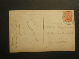 Stempel ( 174 )  Afstempeling Op Fantasiekaart -   Noodstempel   1919 - Fortune Cancels (1919)