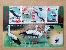 029 WWF Storch Cigogne Storck - Bosnia And Herzegovina