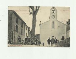 66 - LAROQUE DES ALBERES - La Place De L'église Belle Animation Bon état - Altri Comuni