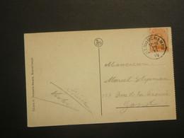 Stempel ( 188 )  Afstempeling Op Kaart  Remouchamps  -   Noodstempel   1919 - Fortune Cancels (1919)