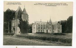 CPA  72 : VALENNES  Château De La Quentinière   A  VOIR  !!!!!!! - Other Municipalities