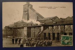 Carte Postale Ancienne - Fouquières-lez-Lens -Fosse N ° 7 Des Mines De Courrières - Miniere
