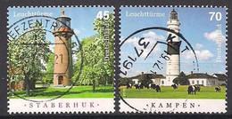 Deutschland  (2016)  Mi.Nr.  3252 + 3253  Gest. / Used  (4gn07) - Gebraucht