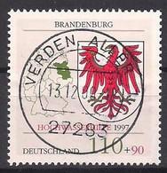 Deutschland  (1997)  Mi.Nr.  1941  Gest. / Used  (4gn15) - Gebraucht