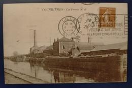 Carte Postale Ancienne  -COURRIERES- Fosse N ° 8 - Bergbau
