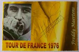 Freddy MAERTENS - Signé / Hand Signed / Dédicace Authentique / Autographe - Wielrennen