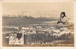 BOUIRA Kabylie - Vue Générale De Bouira - Femmes Kabyles - CARTE PHOTO Ed. Signon - Other Cities