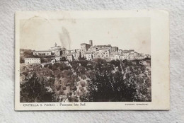 Cartolina Postale Civitella S. Paolo - Panorama Lato Sud, Viaggiata Per Sansepolcro 1926 - Otras Ciudades
