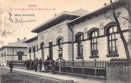 Romania - IASI Jassy - Scoala Primara De Baeti Gheorghe Asaki - Ed. E. J. Brumer - Romania