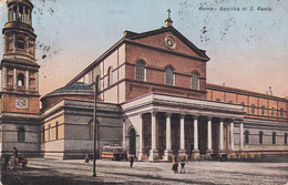 Roma - Basilica Di San Paolo - Fp Vg1910 - Castel Sant'Angelo