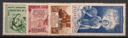Kouang Tchéou - 1942 - Poste Aérienne PA N°Yv. 1 à 4 - PEIQI - Neuf Luxe ** / MNH / Postfrisch - Ungebraucht
