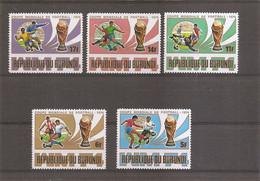 Burundi - Coupe Du Monde De Football En Allemagne -1974 ( 639/643 XXX -MNH) - 1970-79: Ongebruikt