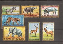Burundi - Faune ( PA 1/7 XXX -MNH) - 1962-69: Neufs