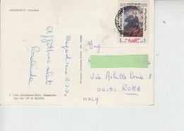 SOMALIA  1970 - Yvert 118 Su Cartolina Per Italia - Lenin - Covers & Documents