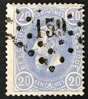 Leopold II OBP 31 LP159 GINGELOM - 1869-1883 Leopoldo II