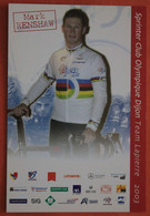Cyclisme :  Mark Renshaw , Champion Du Monde Sur Piste - Ciclismo