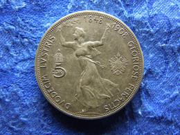 AUSTRIA 5 CORONA 1908, KM2809 - Austria