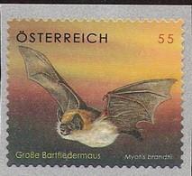 2007 Austria Österreich  Mi 2651**MNH    Bartfledermaus - 2001-10 Unused Stamps