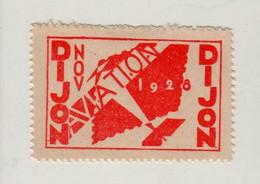 1 VIGNETTE 1928 DIJON AVIATION - Luchtvaart