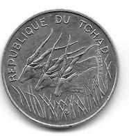 Tchad. 100 Francs 1990 (1271) - Chad