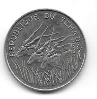 Tchad. 100 Francs 1990 (1139) - Chad