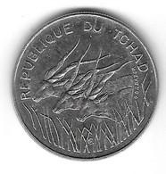 Tchad. 100 Francs 1990 (989) - Chad