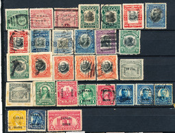 Stamps  Canal Zone Used Lot3 - Canal Zone