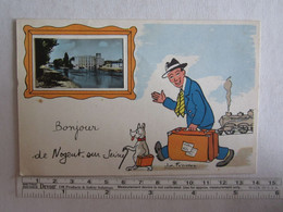 10] Aube > Nogent-sur-Seine Bonjour De Illustrateur - Nogent-sur-Seine