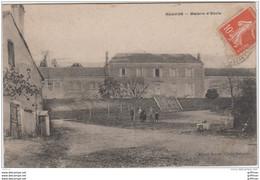 ALLOUE MAISON D'ECOLE 1910 TBE - Sonstige Gemeinden