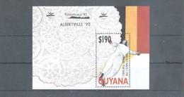Olympische Spelen  1992, Guyana - Blok Postfris - Summer 1992: Barcelona