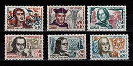 YV 1370 à 1375 N** Celebrites Cote 8,50 Euros - Unused Stamps