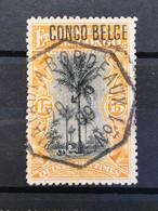 Timbre Mols 15c Obl. MATADI-BORDEAUX - 1894-1923 Mols: Usati