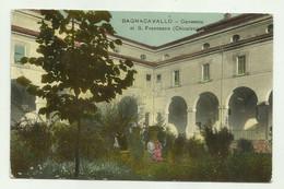 BAGNACAVALLO - CONVENTO DI S.FRANCESCO ( CHIOSTRO ) 1916  VIAGGIATA   FP - Ravenna