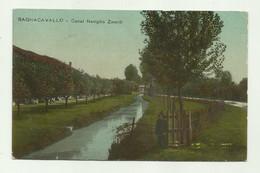 BAGNACAVALLO   - CANAL NAVIGLIO ZANELLI 1916  VIAGGIATA   FP - Ravenna