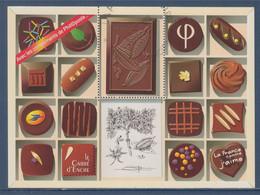 Bloc Chocolat Hors Commerce Avec Les Compliments De Phil@poste Sans Valeur Faciale Visuel Timbre 4366 Oblitéré - Zonder Classificatie