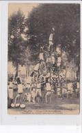 NEVERS * Concours De Gymnastique - Pyramide De L'Union Gymnique Du Creusot - CPA En Très Bon état - Nevers