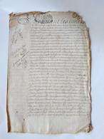 Généralité De Paris - Deux Sols La Feuille - 1701- 1722 - Donation - BE - Algemene Zegels