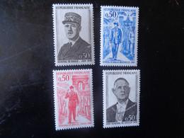 FRANCE 1971   N°1695  à  1698    NEUF**    20% - Unused Stamps