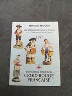 ⭐ Carnet CROIX-ROUGE 1977, Timbres NEUFS** - Excellent État Sans Charnières Santons De Provence ⭐ - Rode Kruis