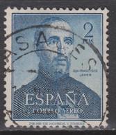 1952 SAN FRANCISCO JAVIER CORREO AÉREO USADO. BUEN CENTRAJE - 1931-50 Usati