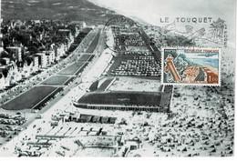CARTE MAXIMUM LE TOUQUET PARIS PLAGE 1962 - 1960-69