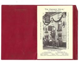 THE CROOKED HOUSE DROITWICH KENCH PROPRIETAIRE ANGLETERRE - SOUVENIR AVEC FASCICULE POUR CORRESPONDANCE - Documenti Storici
