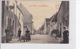 Environs De Beaune  -  FIXIN   *   La Grande Rue   -  CPA En Très Bon état - Beaune